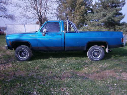 1979 Chevrolet Scottsdale 4x4 Pickup For Sale (picture 1 of 6)