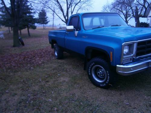 1979 Chevrolet Scottsdale 4x4 Pickup For Sale (picture 2 of 6)