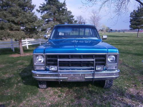 1979 Chevrolet Scottsdale 4x4 Pickup For Sale (picture 3 of 6)