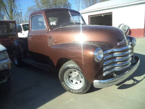 1953 Chevrolet Deluxe Pickup For Sale (picture 1 of 6)