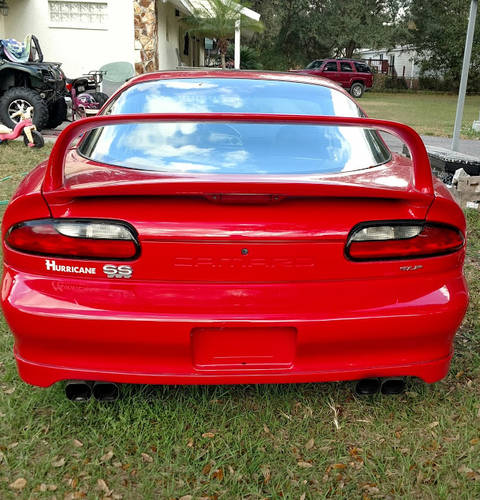 "1996 Chevrolet Camaro SS ""Hurricane"" 2DR For Sale (picture 3 of 5)"