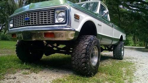 1972 Chevrolet C-10 Custom SS Pickup For Sale (picture 3 of 6)