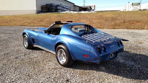 1976 Blue Corvette Black Int Hot Rod For Sale (picture 2 of 6)