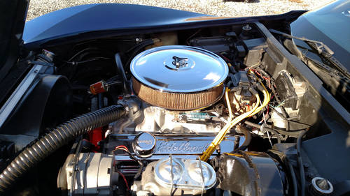 1976 Blue Corvette Black Int Hot Rod For Sale (picture 5 of 6)