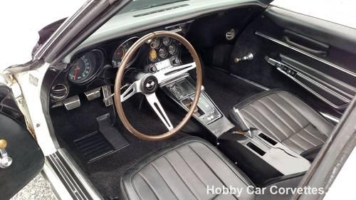 1968 White Corvette Black Int 4spd Fun Driver For Sale (picture 2 of 6)