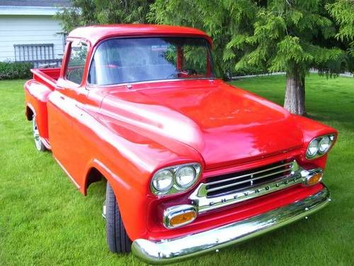 1959 Chevrolet 3100 Apache Pickup For Sale (picture 1 of 6)