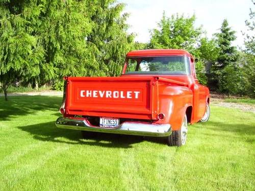 1959 Chevrolet 3100 Apache Pickup For Sale (picture 4 of 6)