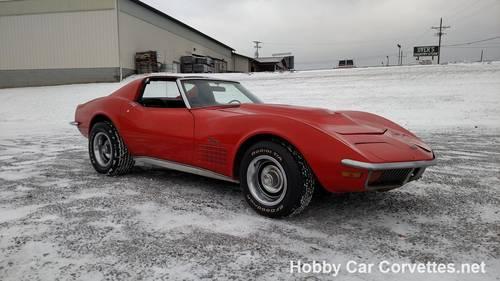 1971 Orange Corvette Black Int For Sale For Sale (picture 4 of 6)