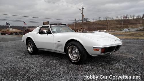 1972 White Corvette Black Int Automatic For Sale (picture 1 of 6)