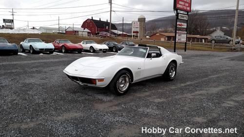 1972 White Corvette Black Int Automatic For Sale (picture 6 of 6)