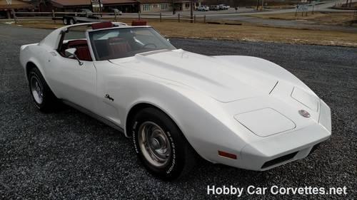 1974 White Corvette Red Int Fun Driver For Sale For Sale (picture 6 of 6)