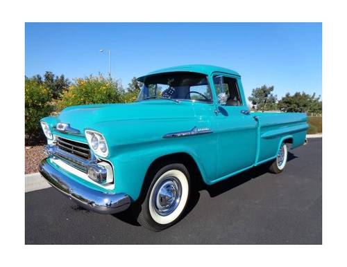1958 Chevrolet 3100 Apache 235 Pickup For Sale (picture 1 of 6)