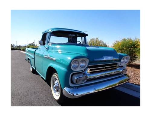 1958 Chevrolet 3100 Apache 235 Pickup For Sale (picture 2 of 6)