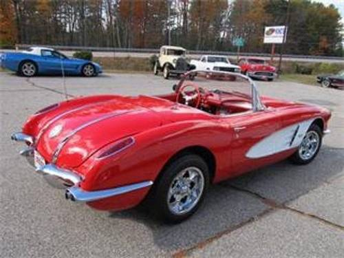 1958 Chevrolet Corvette Convertible * Red For Sale (picture 3 of 6)