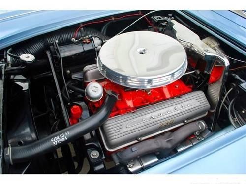 1958 Chevrolet Corvette * Silver-Blue For Sale (picture 6 of 6)