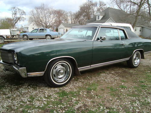 1970 Chevrolet Monte Carlo 2DR HT For Sale (picture 1 of 6)