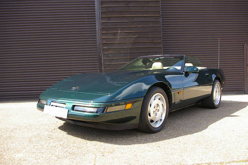 1995 Corvette C4 5.7i V8 Convertible LHD (ONLY 38,000 MILES) SOLD (picture 2 of 6)