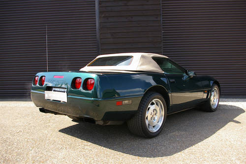 1995 Corvette C4 5.7i V8 Convertible LHD (ONLY 38,000 MILES) SOLD (picture 3 of 6)