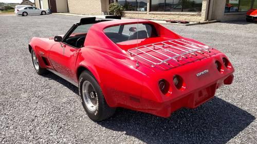 1976 Red Corvette Black Int 4spd Fun Driver For Sale (picture 2 of 6)