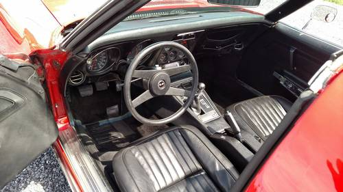 1976 Red Corvette Black Int 4spd Fun Driver For Sale (picture 5 of 6)