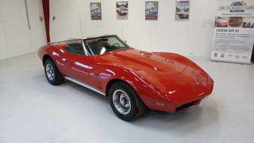 1974 Chevrolet Corvette Stingray Convertible SOLD (picture 1 of 6)