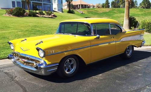 1957 Chevrolet Bel Air Resto-Mod For Sale (picture 1 of 6)