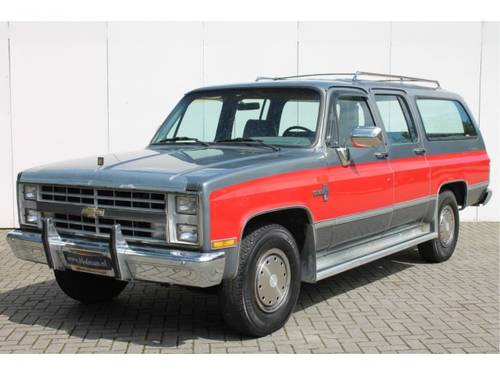 1986 Chevrolet Silverado Suburban For Sale (picture 1 of 6)