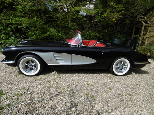1959 Corvette C1 two tops Concourse . Just stunning  SOLD (picture 5 of 6)