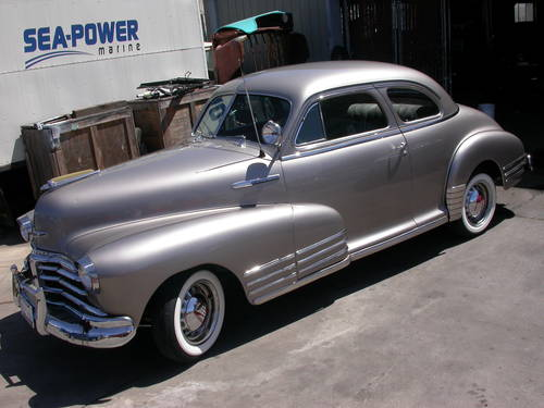 1948 California Deluxe Coupe 22k Shipping Included Sold Car And
