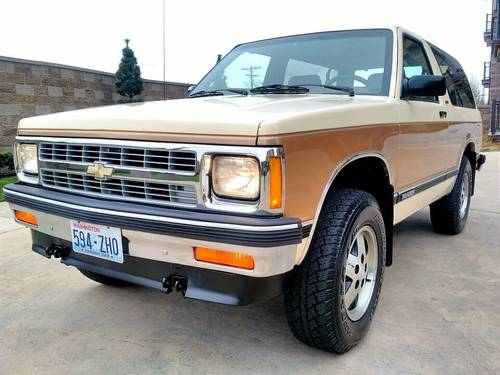 1991 Chevrolet Blazer Tahoe 4x4 - Nicest One Left For Sale (picture 1 of 6)