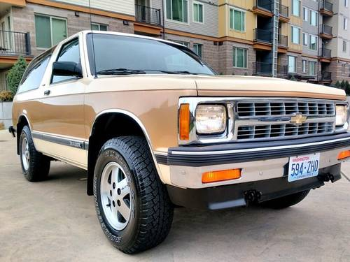 1991 Chevrolet Blazer Tahoe 4x4 - Nicest One Left SOLD (picture 2 of 6)