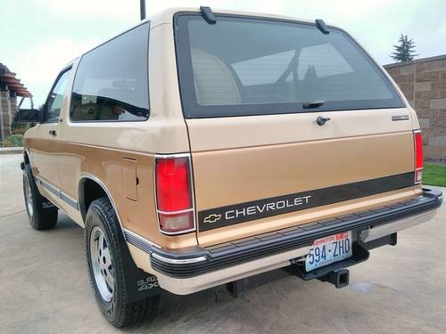 1991 Chevrolet Blazer Tahoe 4x4 - Nicest One Left SOLD (picture 3 of 6)