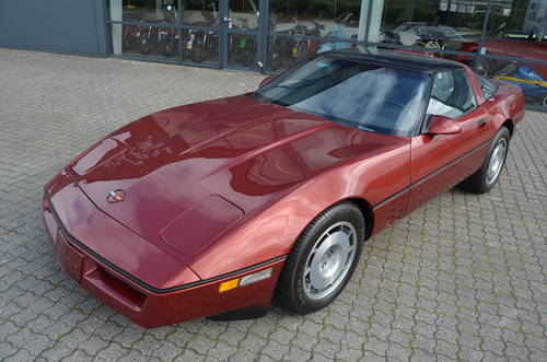1987 Chevrolet Corvette C4 5,7 Targa Aut SOLD (picture 1 of 6)