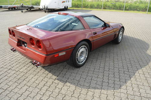 1987 Chevrolet Corvette C4 5,7 Targa Aut SOLD (picture 3 of 6)