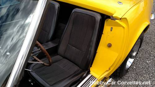 1968 Yellow Corvette Convertible 4spd 36K Miles For Sale (picture 6 of 6)