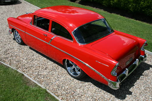1956 56 Chevrolet Belair Restomod Hot Rod V8 Coupe or similar Wanted (picture 2 of 6)