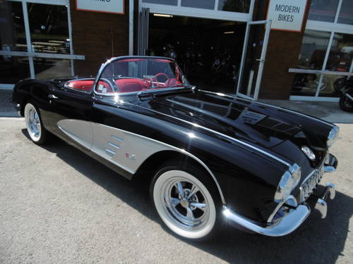 1959 Corvette C1 two tops Concourse . Just stunning  SOLD (picture 1 of 6)