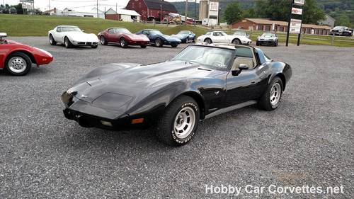 1979 Black Corvette Oyster Int  For Sale (picture 1 of 6)