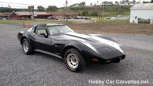 1979 Black Corvette Oyster Int  For Sale (picture 2 of 6)