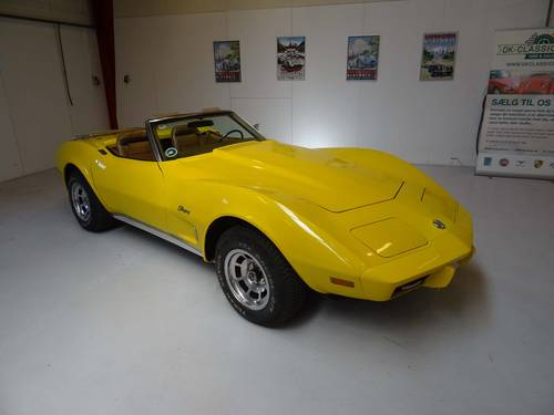 1975 Chevrolet Corvette Stingray Convertible For Sale (picture 1 of 6)