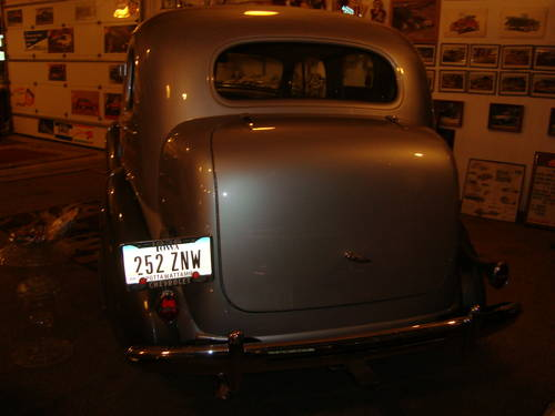 1936 Chevrolet 4DR Sedan For Sale (picture 4 of 5)