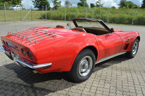 1973 Chevrolet Corvette Stingray Cabrio SOLD (picture 2 of 6)