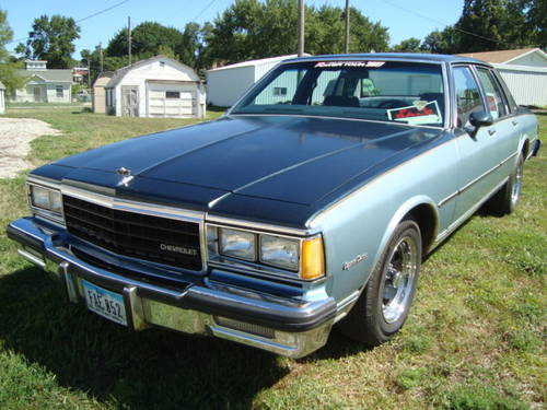 1985 Chevrolet Caprice Classic 4DR Sedan For Sale (picture 2 of 6)