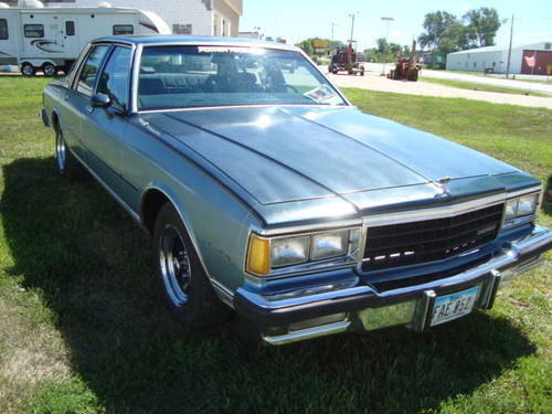 1985 Chevrolet Caprice Classic 4DR Sedan For Sale (picture 3 of 6)