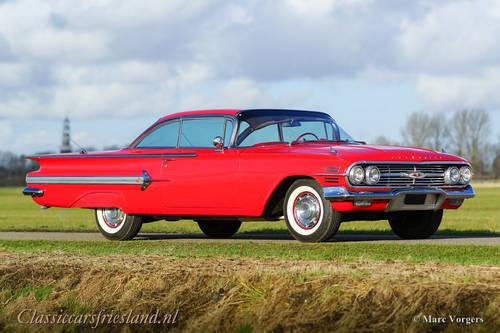 1960 Chevrolet Impala 5.7 L Coupe - SUPER ORIGINAL! SOLD (picture 1 of 6)