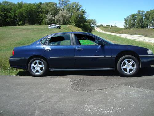 2002 Chevrolet Impala 4DR Sedan For Sale (picture 1 of 6)