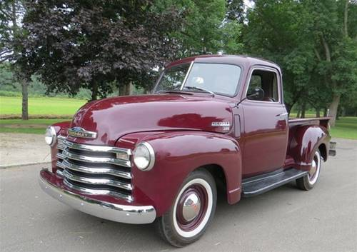1949 Chevrolet 3100 5-W Pickup For Sale (picture 1 of 6)