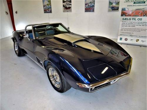 1969 Chevrolet Corvette C3 Stingray Convertible, V8 - 350hp SOLD (picture 1 of 6)
