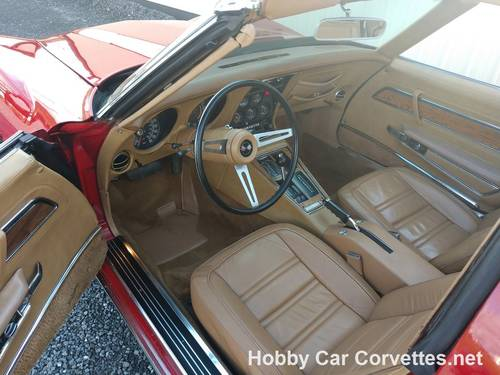 1975 Red Corvette Tan Int Fun Driver For Sale (picture 4 of 6)