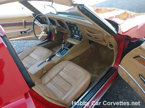 1975 Red Corvette Tan Int Fun Driver For Sale (picture 5 of 6)